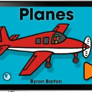 Byron Barton's Planes, an OmBook App