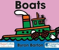Boats by Byron Barton, an omBooks book app