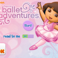 Dora's Ballet Adventure, a storybook app {Giveaway}