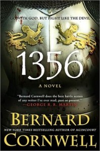 Cover of 1356 by Bernard Cornwell