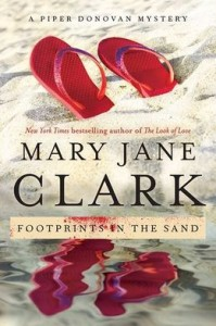 Cover of Footprints in the Sand by Mary Jane Clark