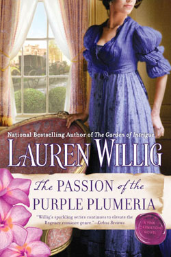 Passion of the Purple Plumeria