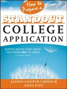 how to prepare a standout college application