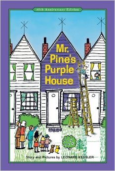 mr  pines purple house