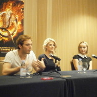 My interview with #CatchingFire cast: Finnick, Johanna, Betee, Gloss and Cashmere #Giveaway