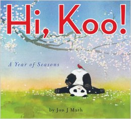 Jon Muth, Hi, Koo!, Haiku for Children, Poetry book for Kids, Children's Poetry