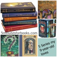 5 Book Series my Middle-Grader Loves {Friday's Five}