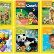 National Geographic Kids: Look & Learn Series #Giveaway