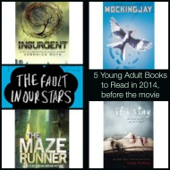 5 YA Books to Read to Get Ready for the Movies, 2014 {Friday's Five}