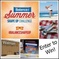 Summer Shape Up with Balance Bar and WalMart #Giveaway #Spon #BalanceShapeUp