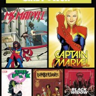 5 Superhero Comics with Girl Power {Friday's Five}
