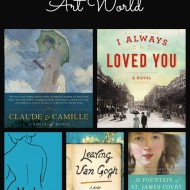 5 Novels Set in the Art World {Friday's Five}