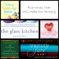 5 Novels That Will Make You Hungry {Friday's Five}