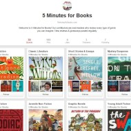 Join 5 Minutes for Books on Pinterest