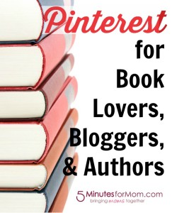 Pinterest for Book Lovers, Bloggers, and Authors