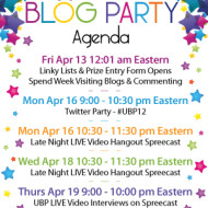 The Ultimate Blog Party is Live – Come Party With Us