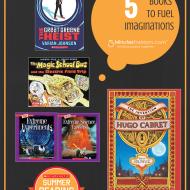 5 Books to Fuel Imagination #SummerReading