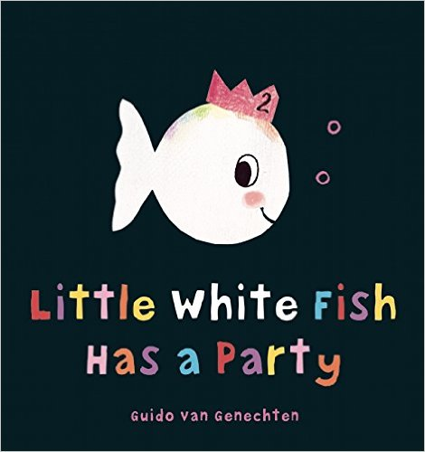 little white fish has party