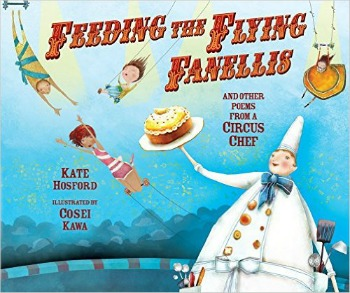 Funny poems for children with a wacky circus theme with delightful illustrations