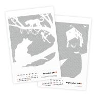Postertext 2016 Calendar Giveaway