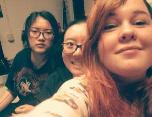 3 roomies