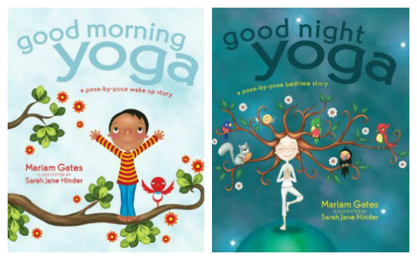 Picture books to help engage children in fun yoga poses