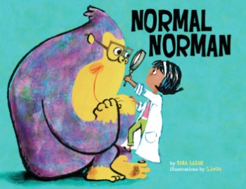 "A new picture book poses the question, ""What is normal?"" with humor."