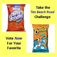 Take Wendy Wax's Cheez Doodle Challenge #Giveaway