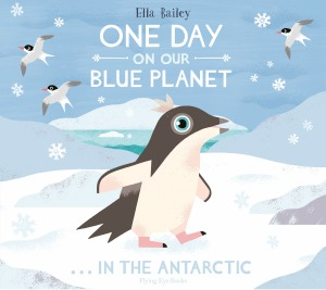 Spend a day with an adventurous adelie penguin chick in this adorable and informative picture book.