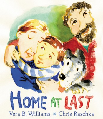 A young boy, newly adopted, learns to feel at home with his new family.