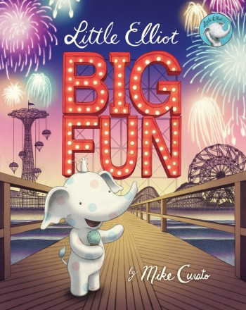 The third in the Little Elliot collection sees the adorable elephant and his mouse friend spending a day at an amusement park.
