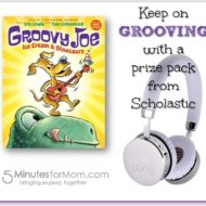 Groovy Joe: Ice Cream & Dinosaurs #Giveaway
