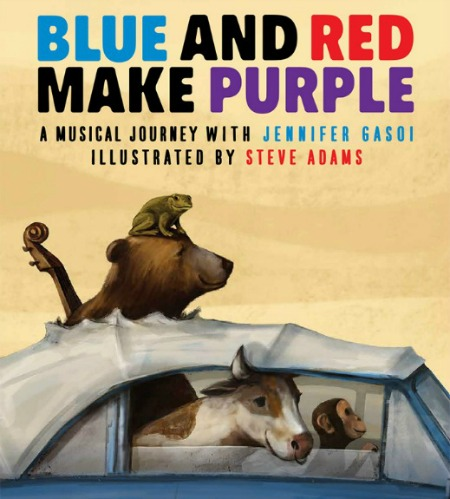 A Musical Journey with Jennifer Gasoi with illustrations by Steve Adams
