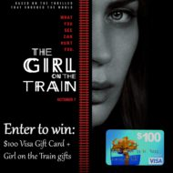Girl on the Train: A Better Movie than Book? #Giveaway