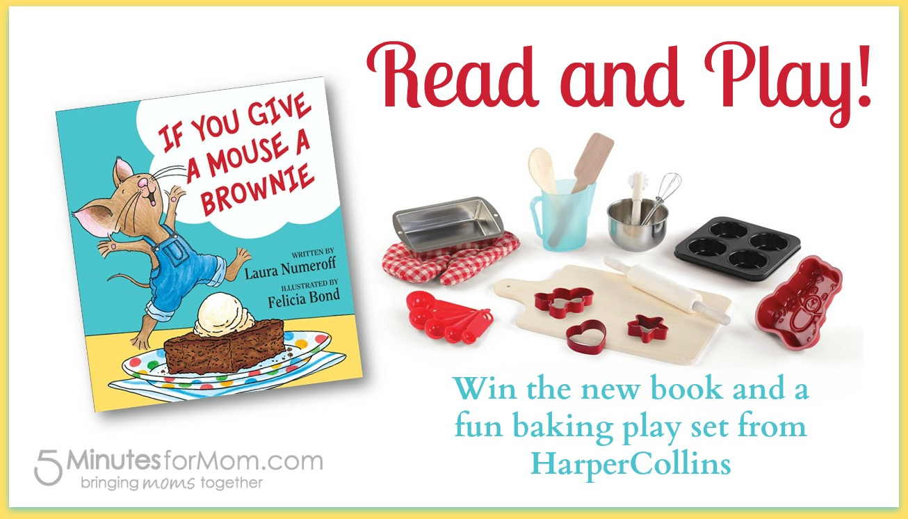 Win a copy of the book and a fun baking play set!