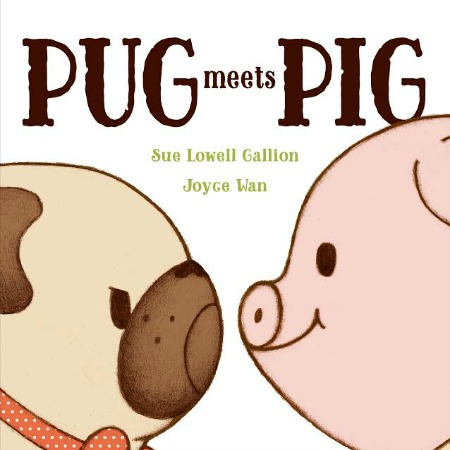 Adorable picture book about accepting someone new.