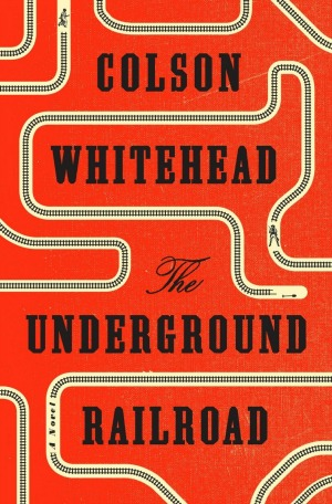 THE UNDERGROUND RAILROAD by Colson Whitehead is a devastatingly blunt depiction of life under the rule of slavery for a young woman and her attempts to break free.