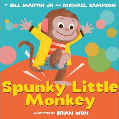 Rhythm and fun make this a picture book to read to your energetic little monkeys!