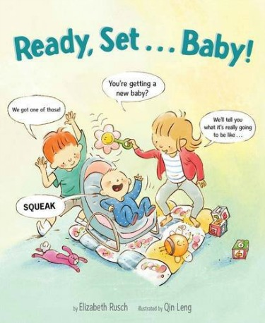 Big kids Anna and Oliver speak directly to new siblings-to-be to help prepare them for the new baby in their life in this funny and helpful new picture book.
