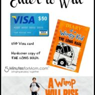 The new Diary of the Wimpy Kid movie: The Long Haul #Giveaway