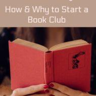 Books = Bonding, Start a Book Club